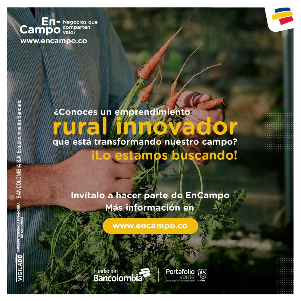 imagen alusiva a  Invitación a Negocios Verdes pertenecientes a los sectores agro y turismo de naturaleza
