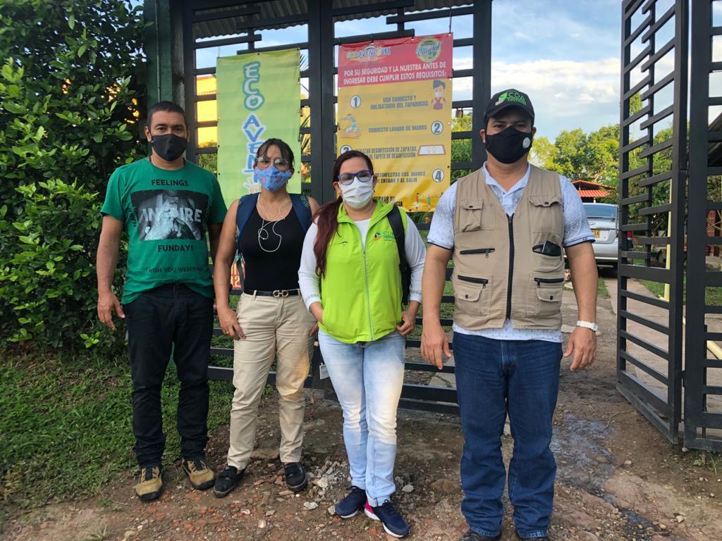 imagen alusiva a  La ventanilla de Negocios Verdes en Guaviare reactiva visitas a Unidades Empresariales
