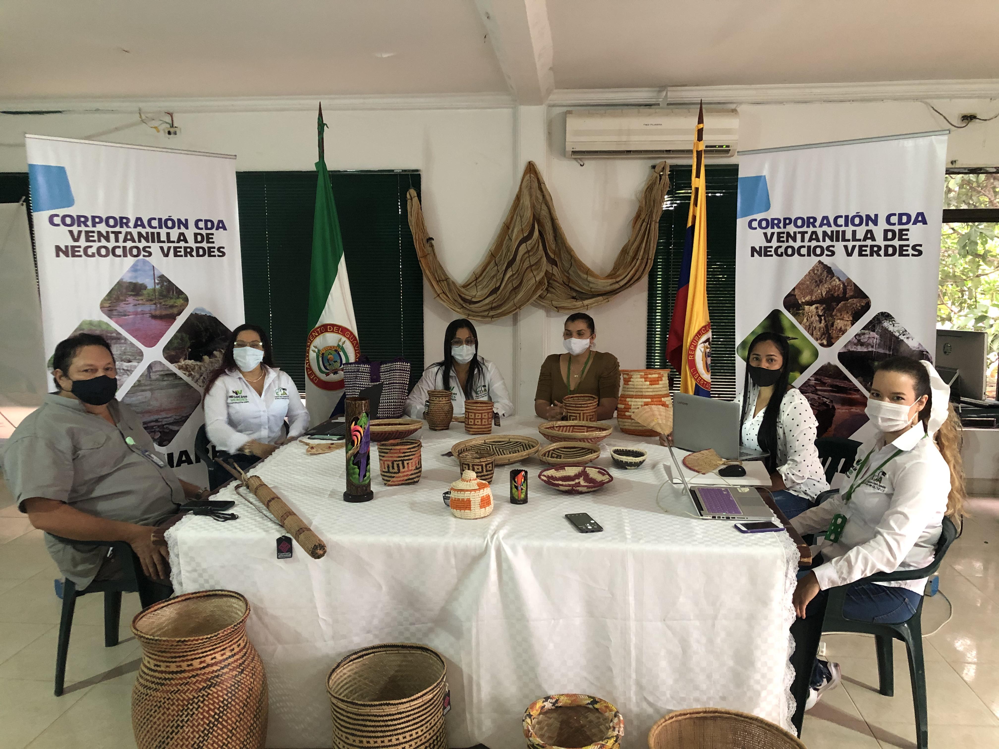 imagen alusiva a  Así se consolidaron durante el 2020 los Negocios Verdes en el Guaviare