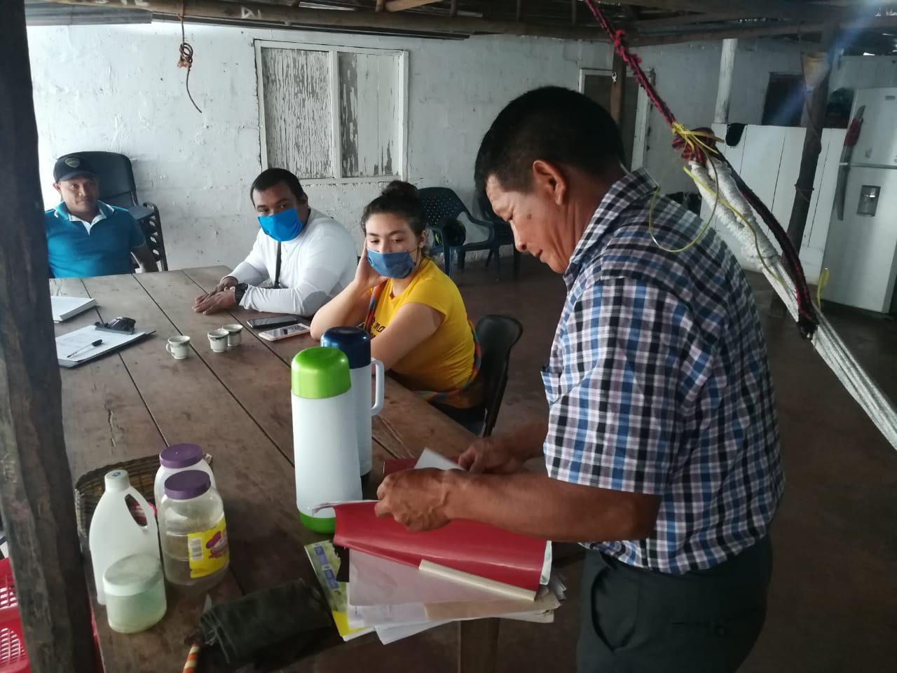 imagen alusiva a  La Ventanilla Verde brinda asesoría técnica y profesional a la Asociación de Artesanos Indígenas del Guainía