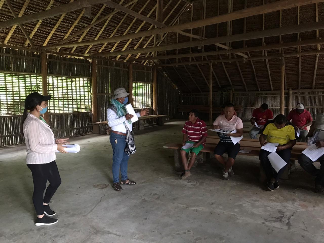 imagen alusiva a  El proyecto Negocios Verdes llega a la comunidad de Caranacoa